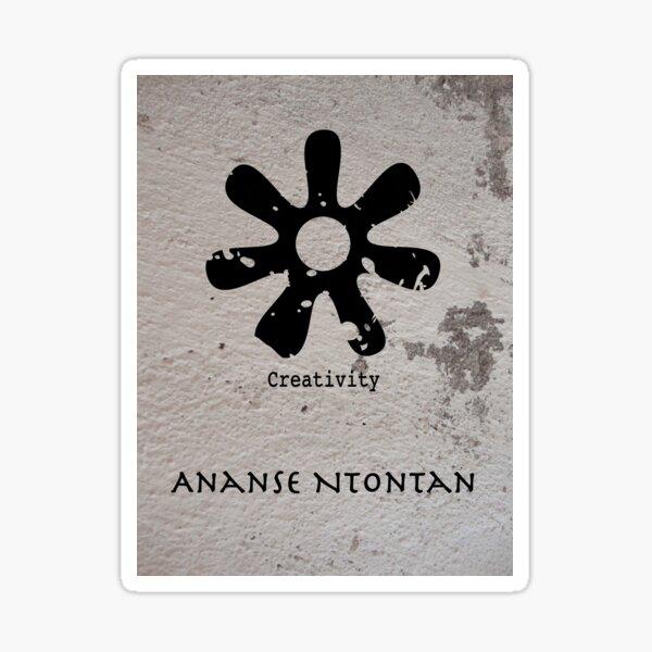 Ananse Ntontan Adinkra Symbol Sticker