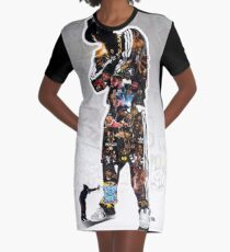 HIP HOP HOORAY Graphic T-Shirt Dress