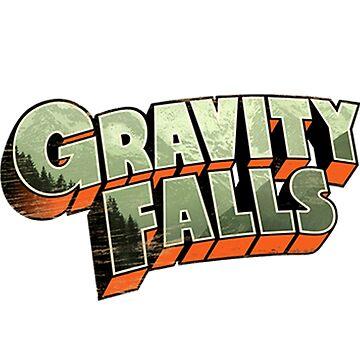Gravity Falls by Bebatis