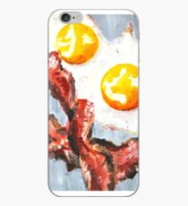Eggs and Bacon Painting iPhone Case