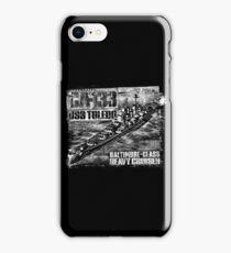 Heavy cruiser Toledo iPhone Case/Skin