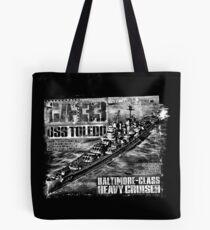 Heavy cruiser Toledo Tote Bag