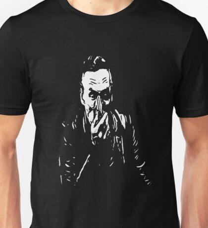 booth on black Unisex T-Shirt