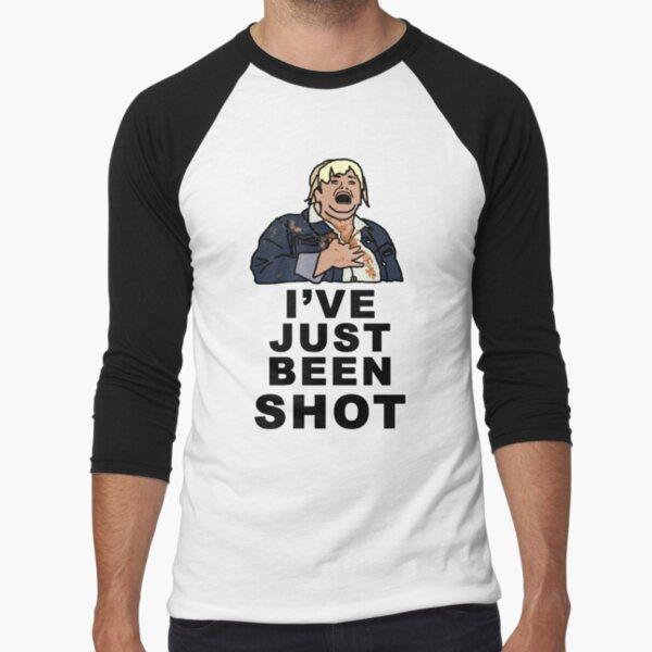IVE JUST BEEN SHOT - Fat Amy Baseball ¾ Sleeve T-Shirt