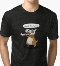 I found This Humerus Tri-blend T-Shirt