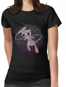 POKEMON MEW made out of its moves! Womens Fitted T-Shirt