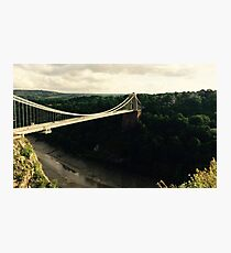 Bristol Suspension Bridge Photographic Print