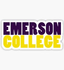 Emerson College Sticker