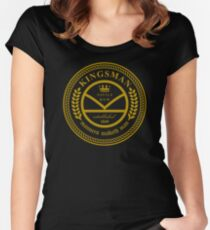 Kingsman the tailors  Women's Fitted Scoop T-Shirt
