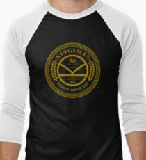 Kingsman the tailors  Men's Baseball ¾ T-Shirt