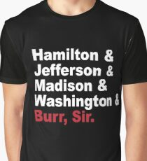 Founding Fathers & More- Hamilton Graphic T-Shirt