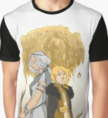 Silver Sister, Golden Brother Graphic T-Shirt