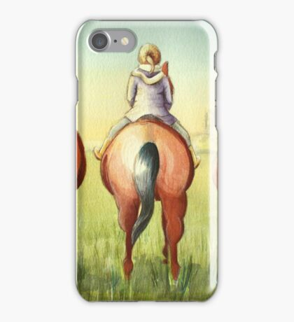 Pony Tails iPhone Case/Skin