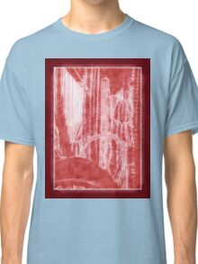 Cactus Garden Outlined Red Classic T-Shirt