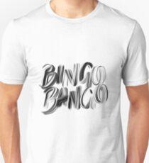 Bingo Bango Slogan Hipster Funny Art Typography T-Shirt