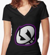 Pokemon - Team Skull Women's Fitted V-Neck T-Shirt