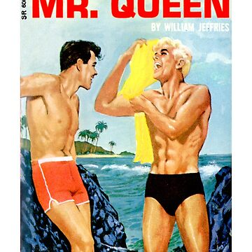 Mr. Queen Vintage Bookcover by Hedrin