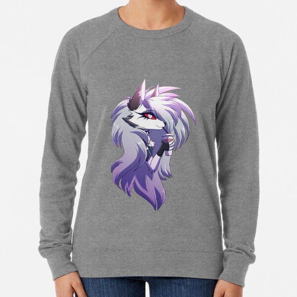 Helluva Boss Loona Lightweight Sweatshirt