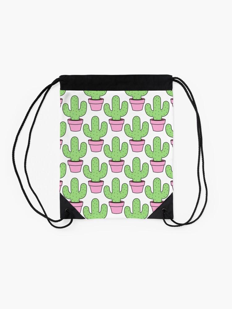 Vista alternativa de Mochila saco Cactus renovado