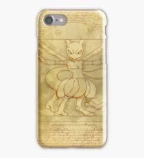 Vitruvian Monster iPhone Case/Skin