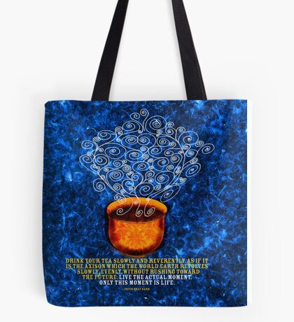 What my #Tea says to me - November 10, 2012 pillow Tote Bag