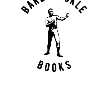 BAREKNUCKLE BOOKS  - Offical Logo T-Shirt by bareknucklepoet