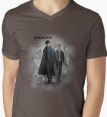 BBC Sherlock Men's V-Neck T-Shirt