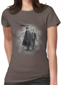 BBC Sherlock Womens Fitted T-Shirt