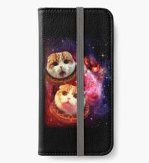 Vinilo o funda para iPhone Waffles el OVNI Cat