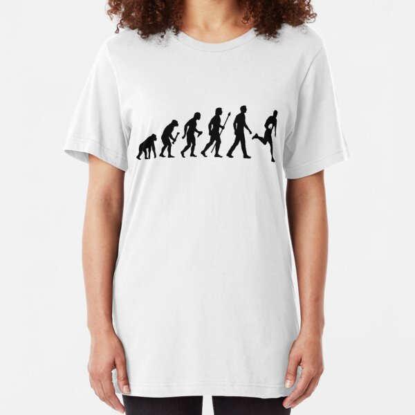 Evolution of Rugby  Slim Fit T-Shirt