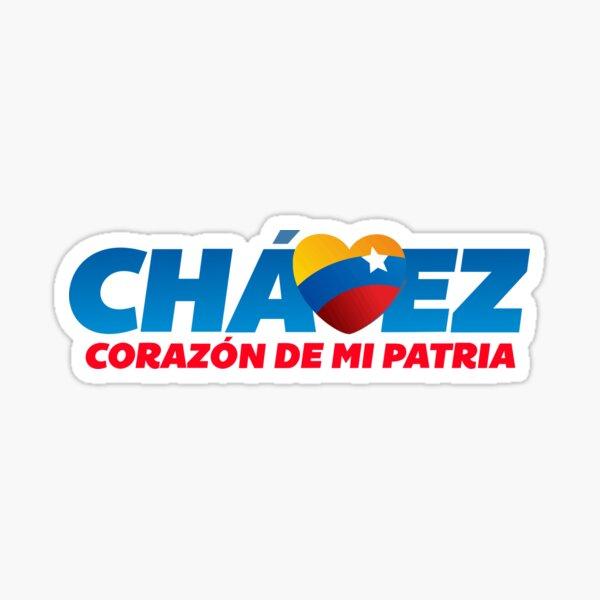 Chavez Corazon de mi patria Pegatina