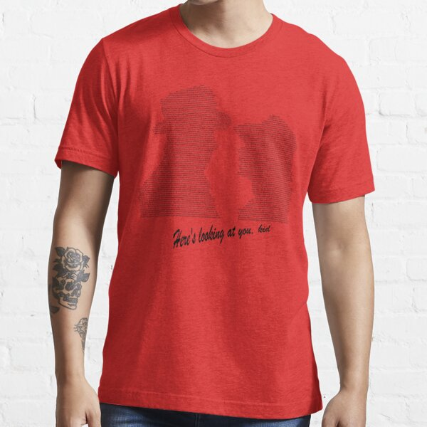 Casablanca Ending Scene Image and Dialogue Essential T-Shirt