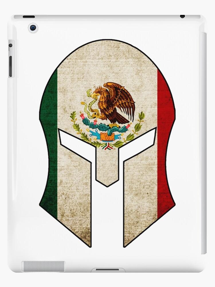 Spartan Casque Mexico Drapeau Sparta Spartacus Mexicain Coques Et