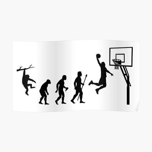 Basketball Evolution Poster