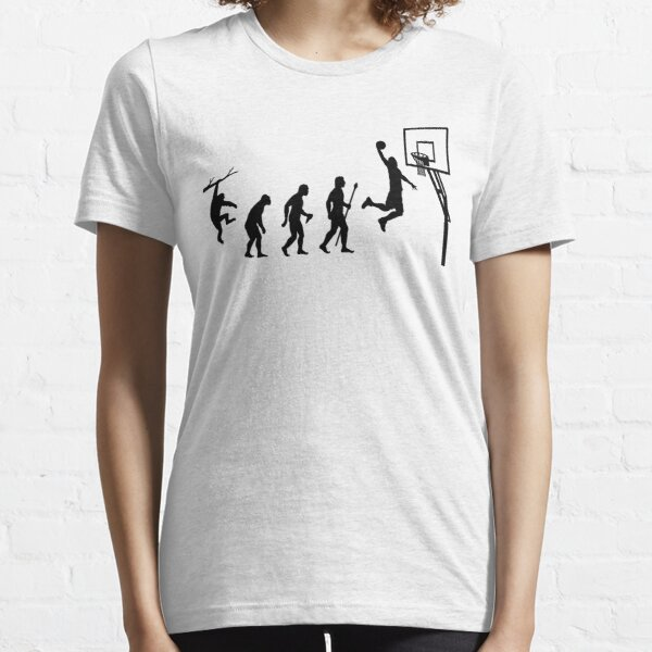 Basketball Evolution T-shirt essentiel