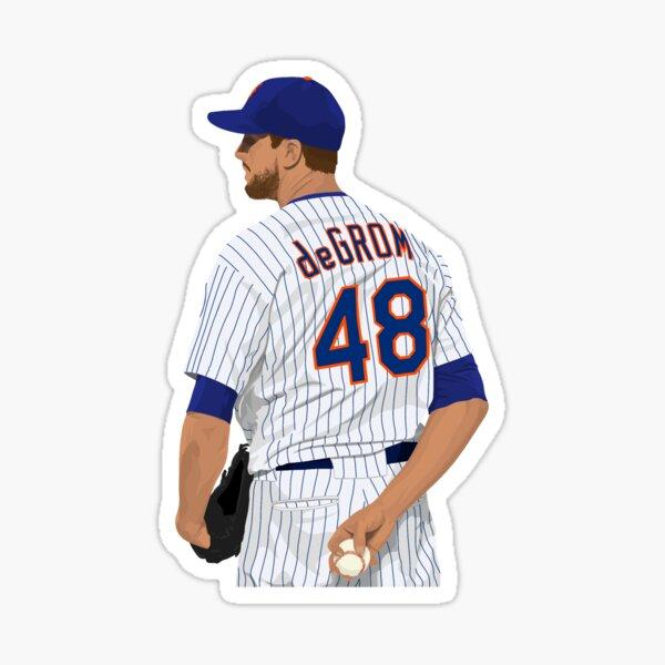 Jacob deGrom 48 Sticker