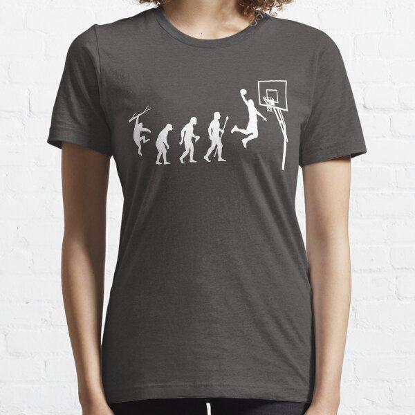 Camiseta divertida de la evolución del baloncesto Camiseta esencial