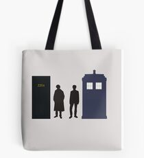 A Study In Time Tote Bag