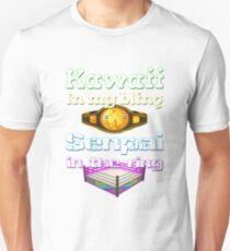 "Official Delilah Hayden""Kawaii VS Senpai"" Design T-Shirt"
