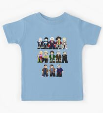 Doctor Who - Toy Doctors Kids Tee