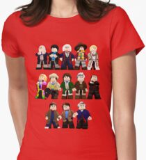 Doctor Who - Toy Doctors Womens Fitted T-Shirt