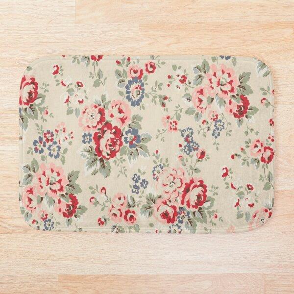 cath kidston flowers design  Bath Mat