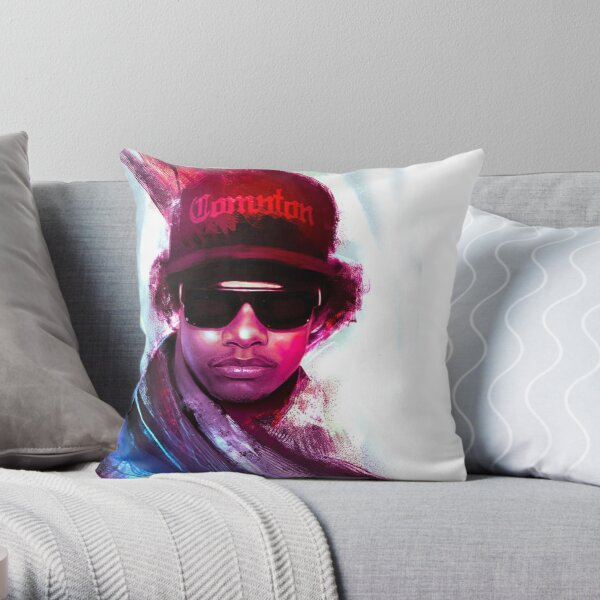 We want Eazy Throw Pillow