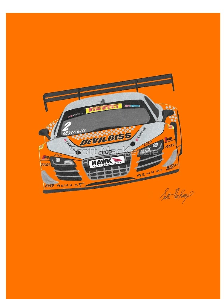 Kyle Marcelli Audi R8 PWC by Froggy1985