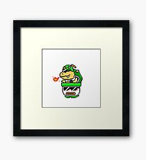 Cool Bowser Jr. Framed Print