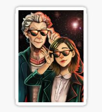 Doctor Who - Space Agents Sticker