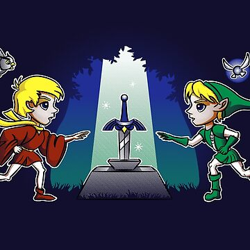 Master Sword in the Stone by Aryon86