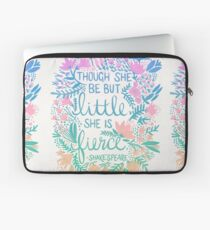 Little & Fierce – Lavender Mint Ombré Laptop Sleeve