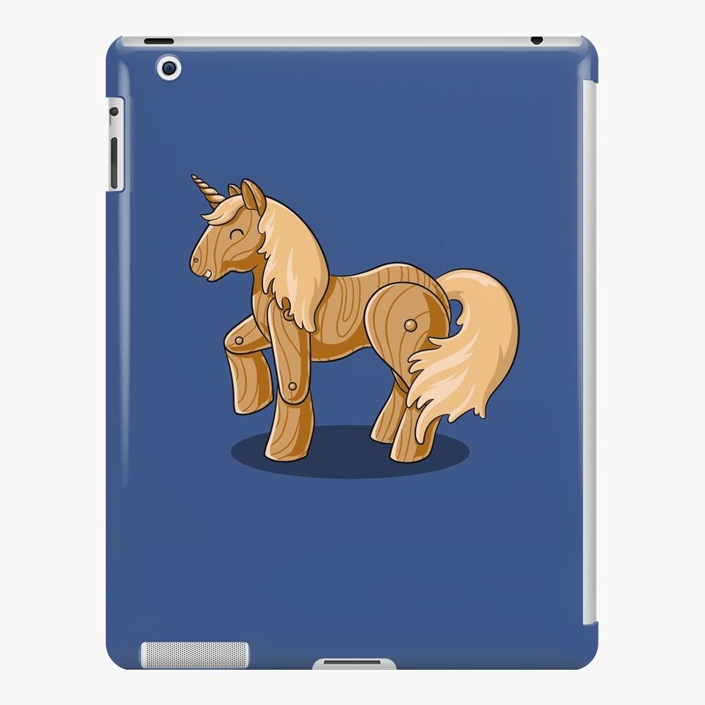 Unocchio the Wooden Unicorn iPad Case & Skin