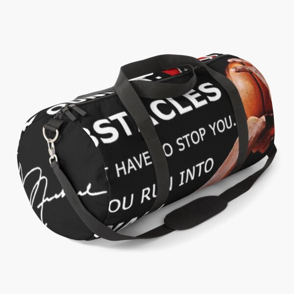 /Facing Obstacles in Life  Duffle Bag